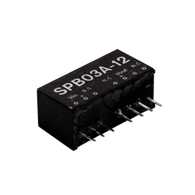 Mean Well SPB03C-15 DC/DC PCB Mount - Through Hole 15V 0.2A Converter